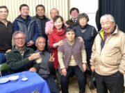 支部の仲間と新年会